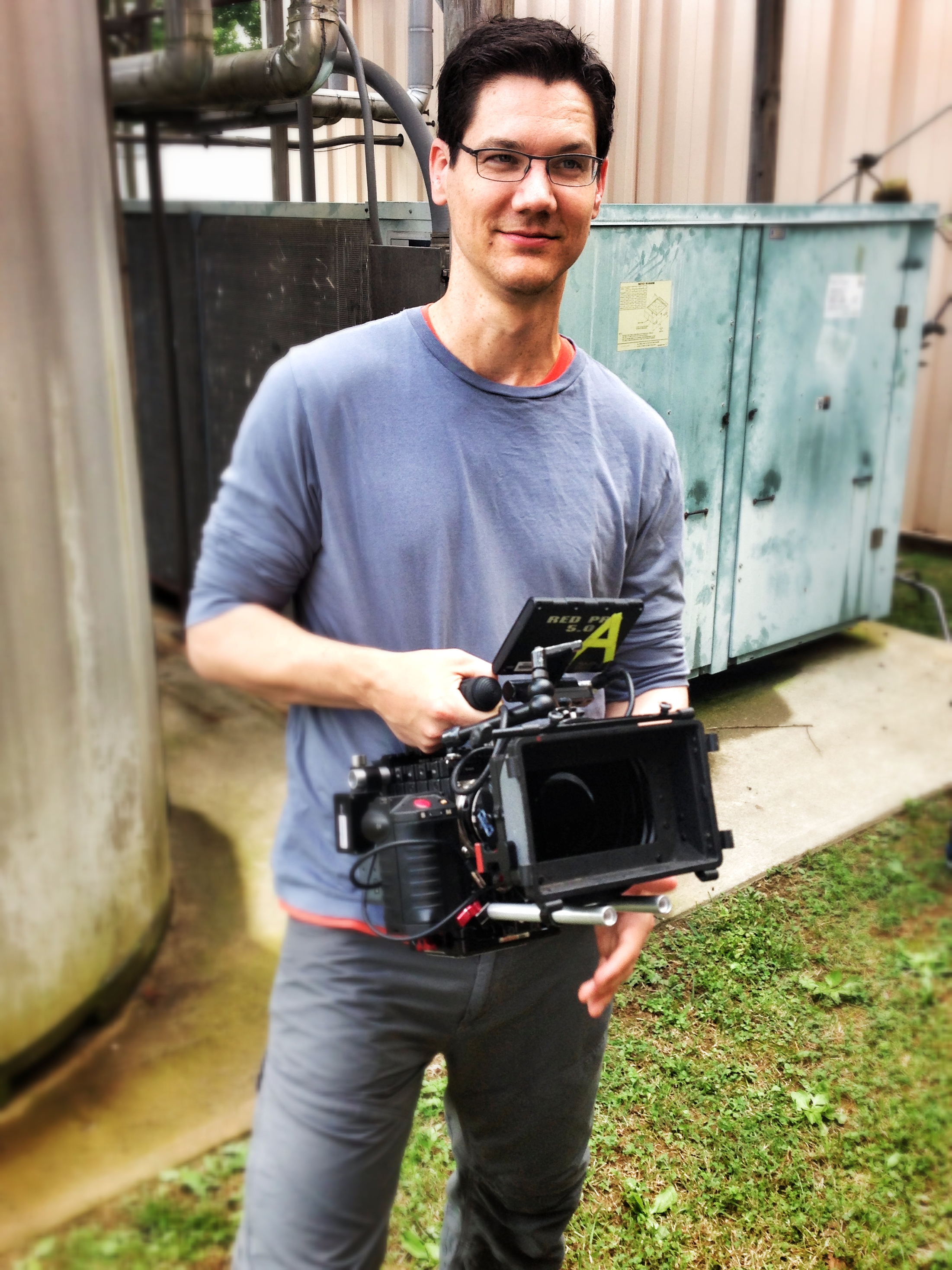Andy with Red Camera