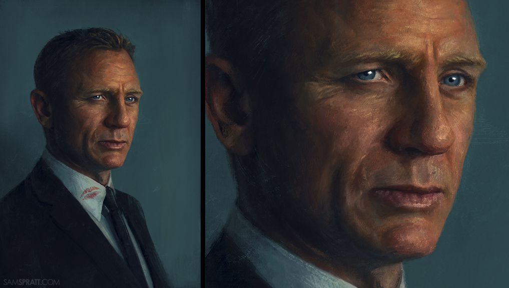 James Bond by Sam Spratt